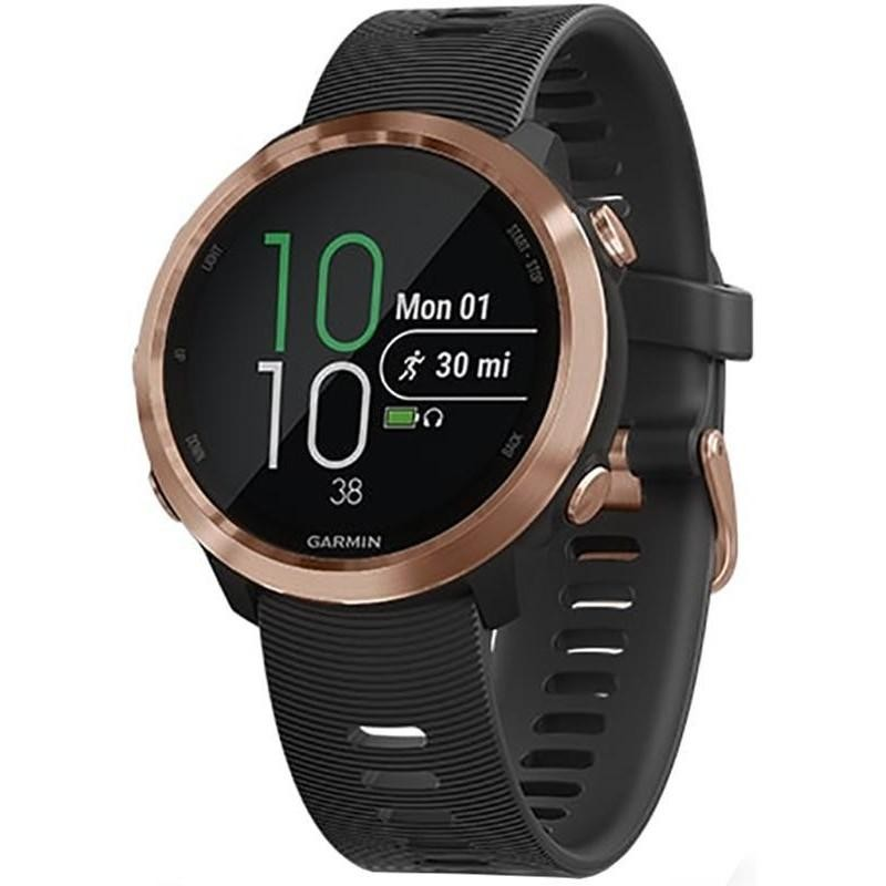 Спортивные часы Garmin Forerunner 645 Music Black with Rose Gold Hardware (010-01863-32)