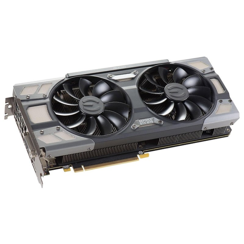 Видеокарта EVGA GeForce GTX 1070 FTW GAMING ACX 3.0 (08G-P4-6276-KR)