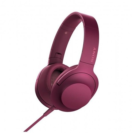 Наушники Sony h.ear on MDR-100AAP Pink