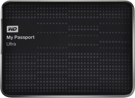 Жесткий диск WD My Passport Ultra WDBPGC5000ABK