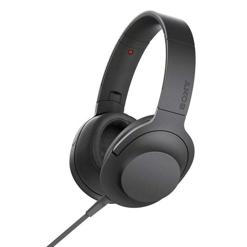 Наушники Sony h.ear on MDR-100AAP Black