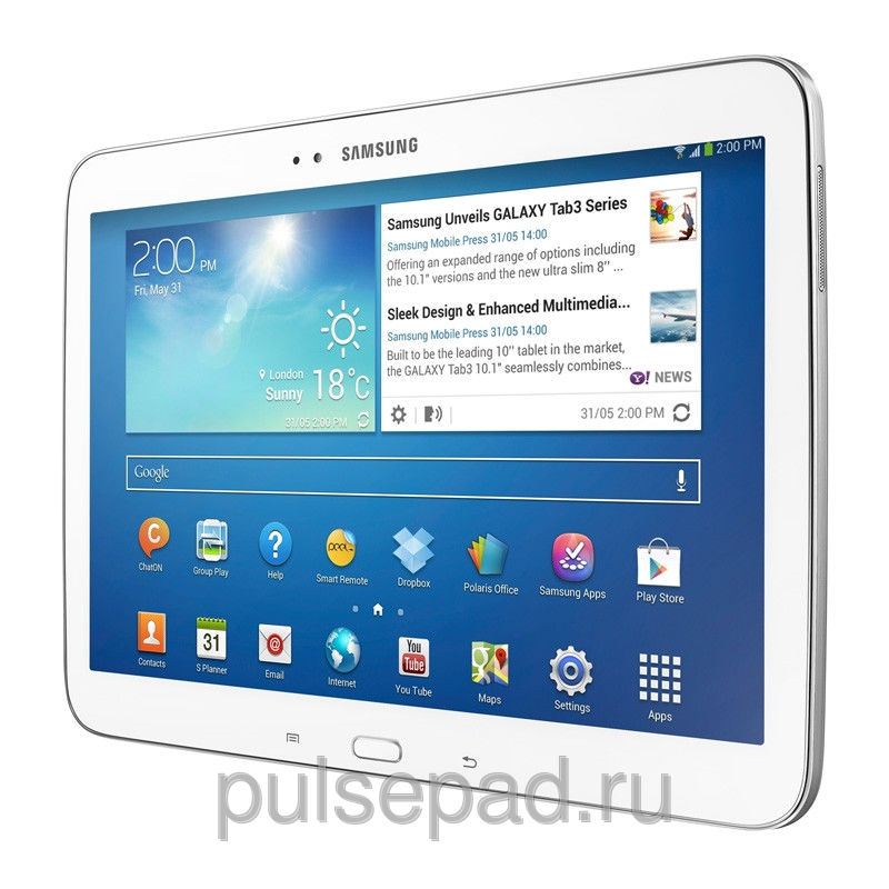 Планшет Samsung Galaxy Tab 3 10.1 16GB White (GT-P5210ZWA) (RB)