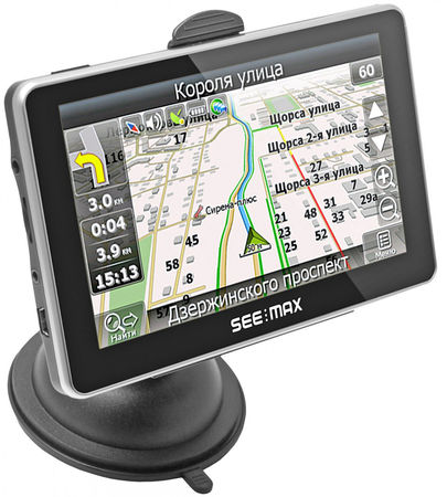 GPS-навигатор SeeMax navi E510 HD BT