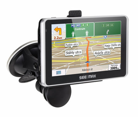 GPS-навигатор SeeMax navi E550 HD DVR