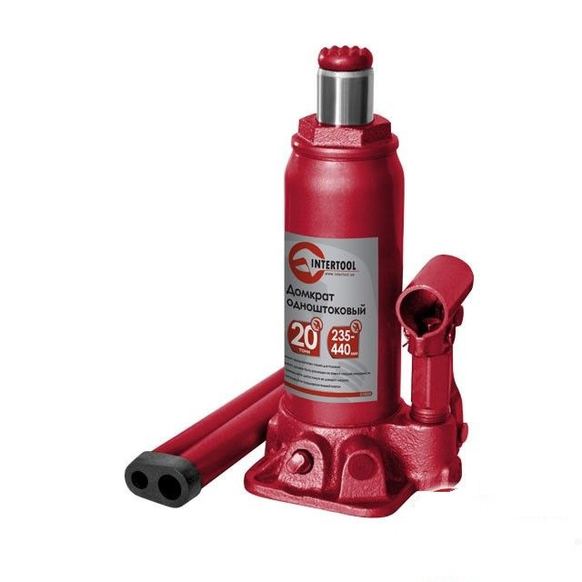 Домкрат гидравлический INTERTOOL GT0028