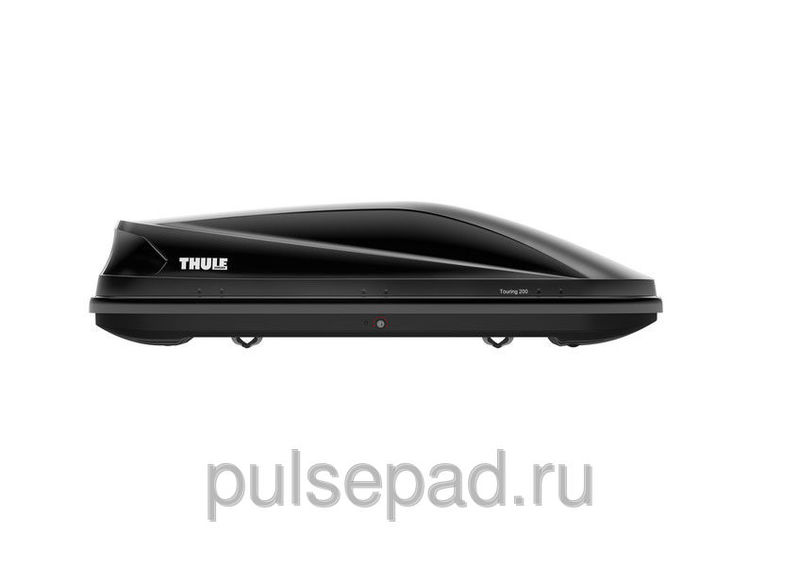 Грузовой бокс THULE  TOURING 200 BLACK GLOSSY (TH-6342B)