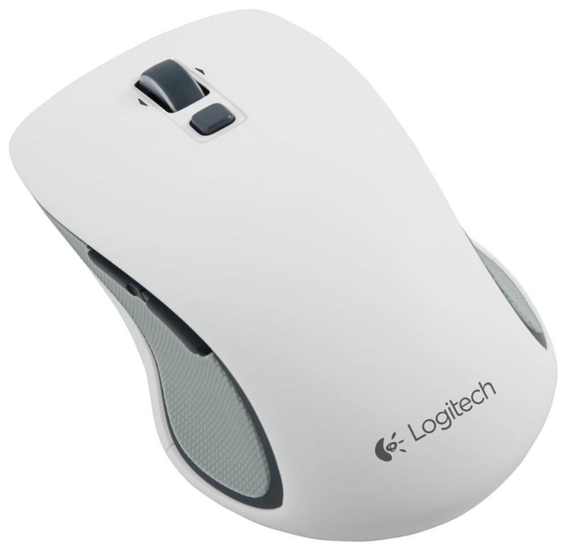 Logitech M560 Wireless Mouse White 910-003914 (эконом упаковка)