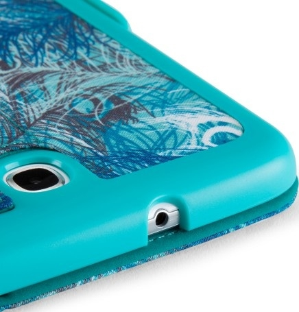 Чехол Speck Samsung Galaxy Note 8 Fitfolio (Peacock Plumes Blue/Caribbean Blue) (SP-SPK-A2090)