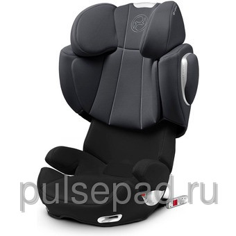 Автокресло Cybex Solution Q-fix Storm Cloud Dark Grey (514120015)