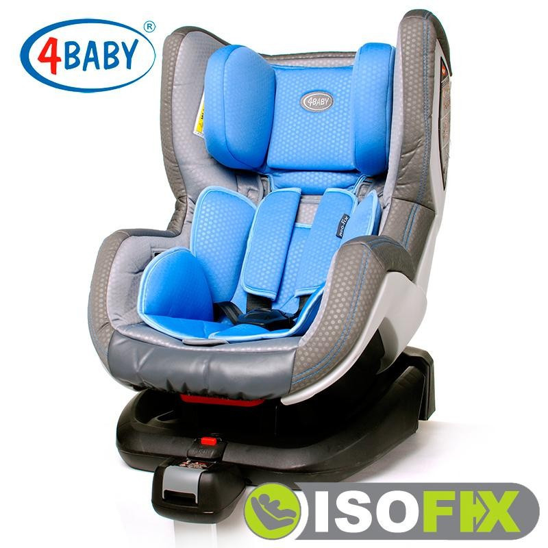 Автокресло 4baby Neo-Fix Blue