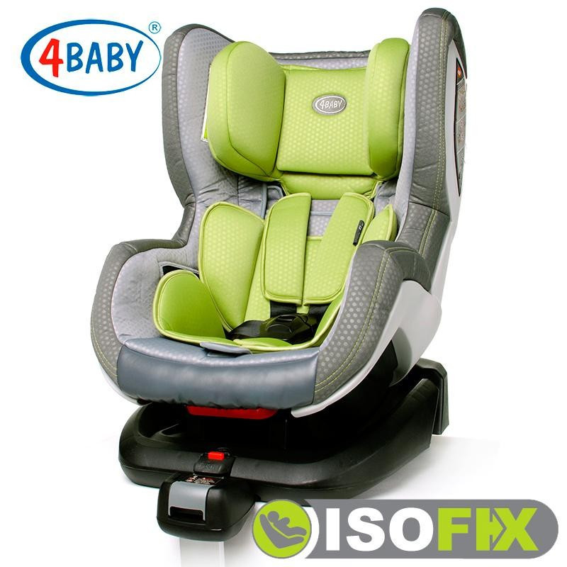Автокресло 4baby Neo-Fix Green