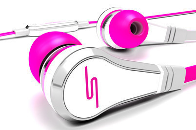 SMS Audio STREET by 50 Wired In-Ear Pink