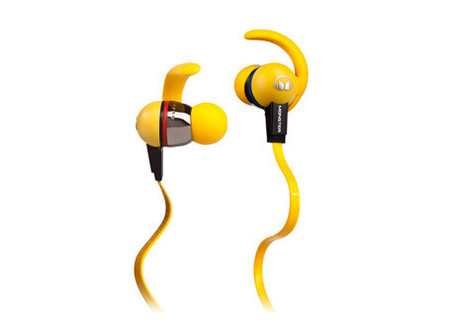 Monster iSport LiveStrong with ControlTalk Yellow