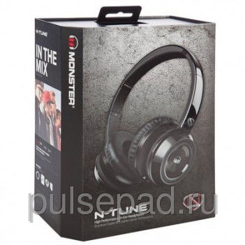 Monster NCredible NTune On-Ear Midnight Black (MNS-128450-00)