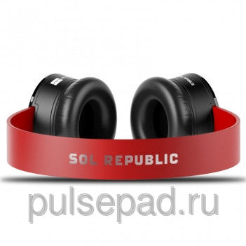 SOL REPUBLIC Tracks - Red