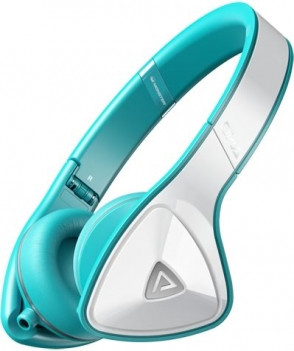 Monster DNA On-Ear Headphones White Over Teal