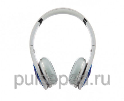 Monster DNA On-Ear Headphones Cobalt Blue Over Light Grey