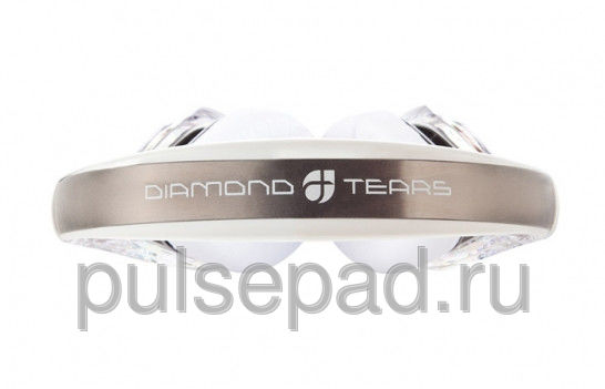 Monster Diamond Tears Edge On-Ear Headphones (Crystal)