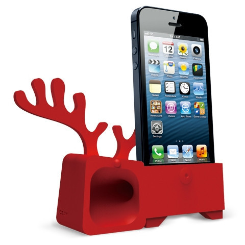 Ozaki Подставка O!music Zoo Deer Red for iPhone 5 (OM936DB)