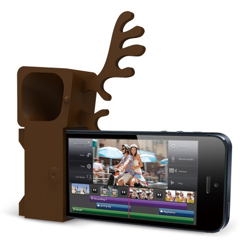 Ozaki Подставка O!music Zoo Deer Brown for iPhone 5 (OM936DA)