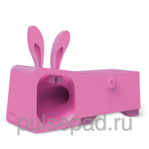 Подставка Ozaki Подставка O!music Zoo Rabbit Pink for iPhone 5 (OM936RB)
