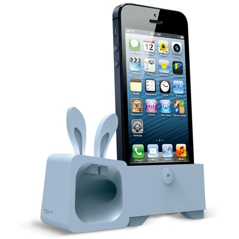 Подставка Ozaki Подставка O!music Zoo Rabbit Blue for iPhone 5 (OM936RA)