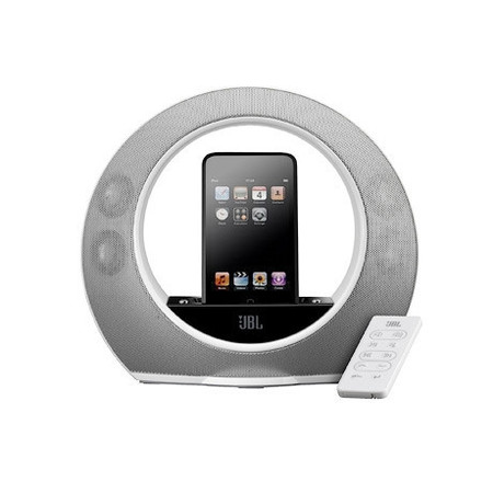 Акустическая система JBL Radial Micro для Apple iPhone 3G/3GS/4/4S/iPod nano 5G/iPod touch 3G/4G белая