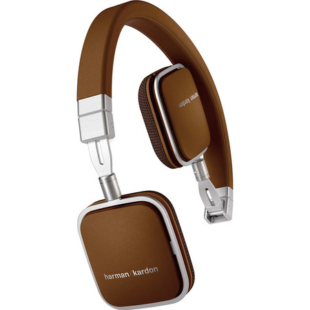Наушники Harman Kardon Soho I для iPhone/iPod/iPad mini/iPad коричневые