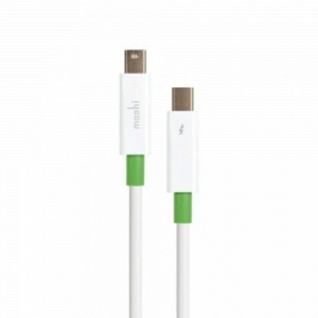 Кабель Moshi Thunderbolt для Apple MacBook/iMac/iMac 2 m, белый