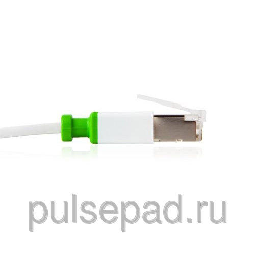 Кабель Moshi Gigabit Ethernet Cat 6 для Apple MacBook Pro/Mac Pro/Mac Mini/iMac 3.6м, белый