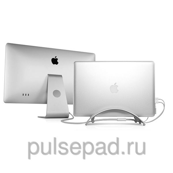 "Подставка Twelvesouth BookArc для Apple MacBook Pro 13""/15""/17"" серебристая"