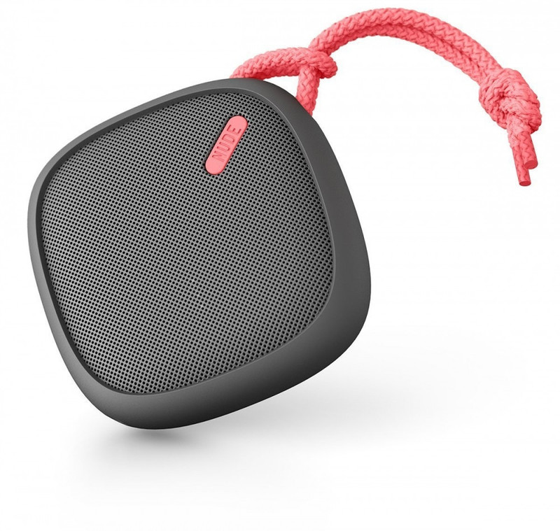 Портативная колонка NudeAudio MOVE M Charcoal/Coral (PS003CLG)