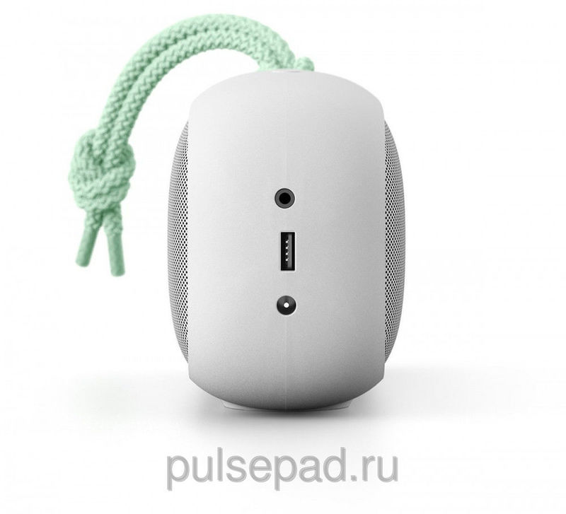 Портативная колонка Nude Audio Portable Bluetooth Speaker Move L Light Grey/Mint (PS004MTG)