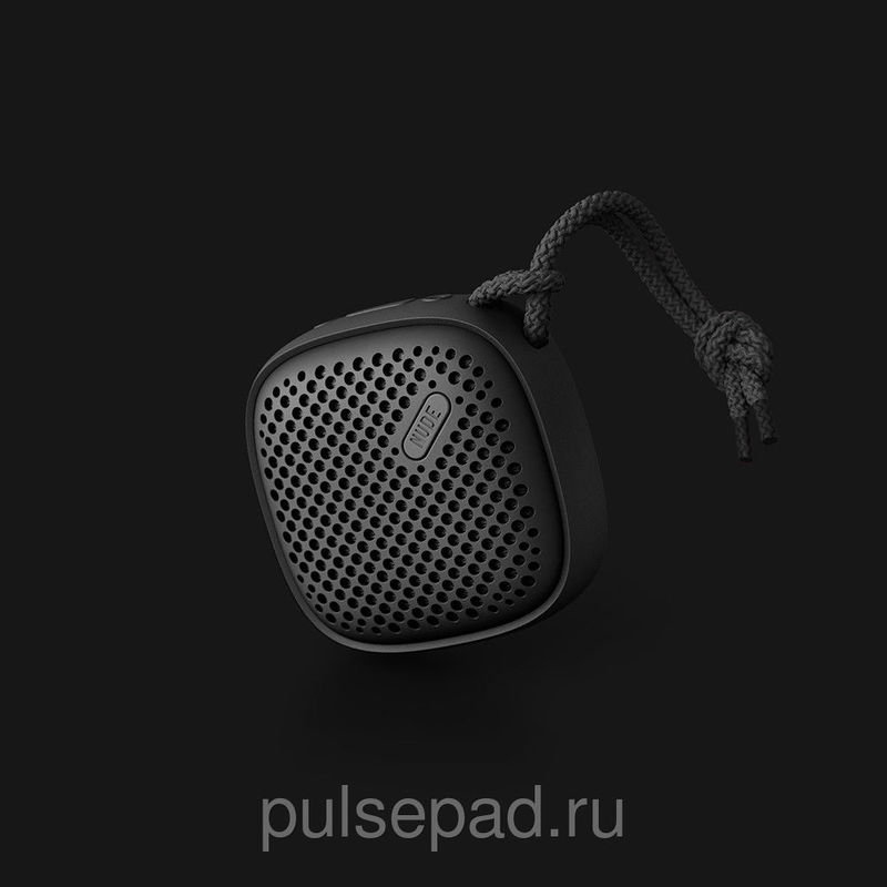 Портативная колонка Nude Audio Portable Bluetooth Speaker Move S Black (PS002BKG)