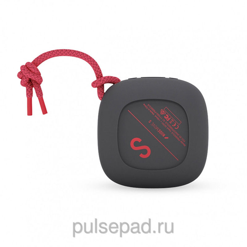 Портативная колонка Nude Audio Portable Bluetooth Speaker Move S Charcoal/Coral (PS002CLG)