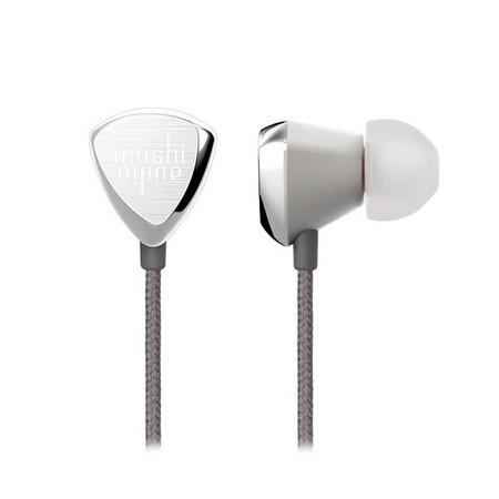 Гарнитур Moshi Vortex Premium In-Ear Headphones для Apple iPad 2- Apple iPhone 3G- Apple iPod nano 5G серебряный