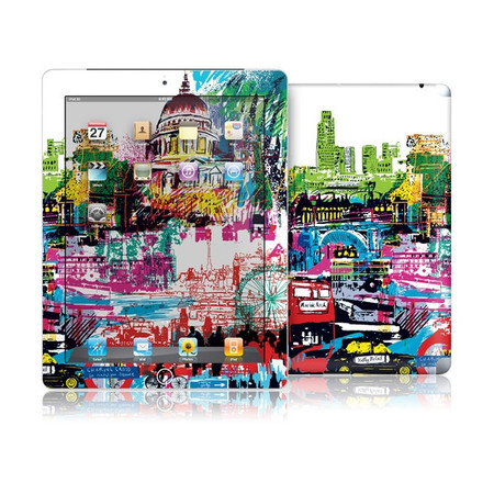 GelaSkins London Skyline для iPad 2/3/4