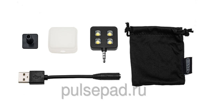 LED-вспышка iBlazr для iPhone/iPod/iPad mini/iPad/Smartphones/Tablets чёрная