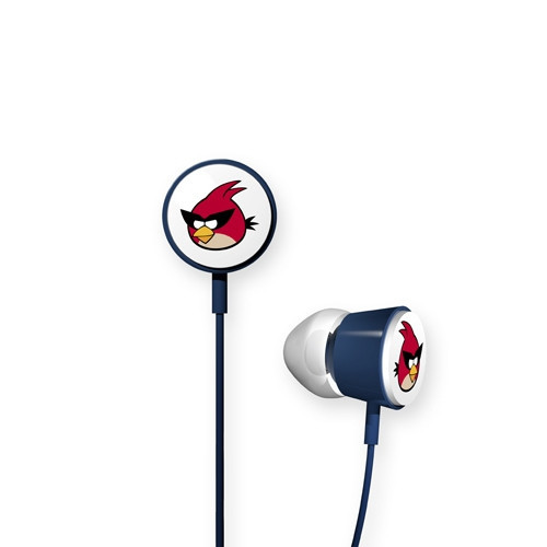 Наушники Gear4 Angry Birds Space Red Bird синие