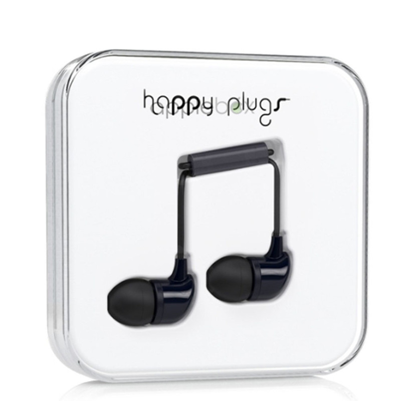 Наушники Happy Plugs In-Ear чёрные