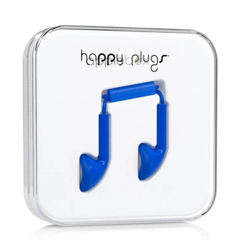 Наушники Happy Plugs Earbud синие