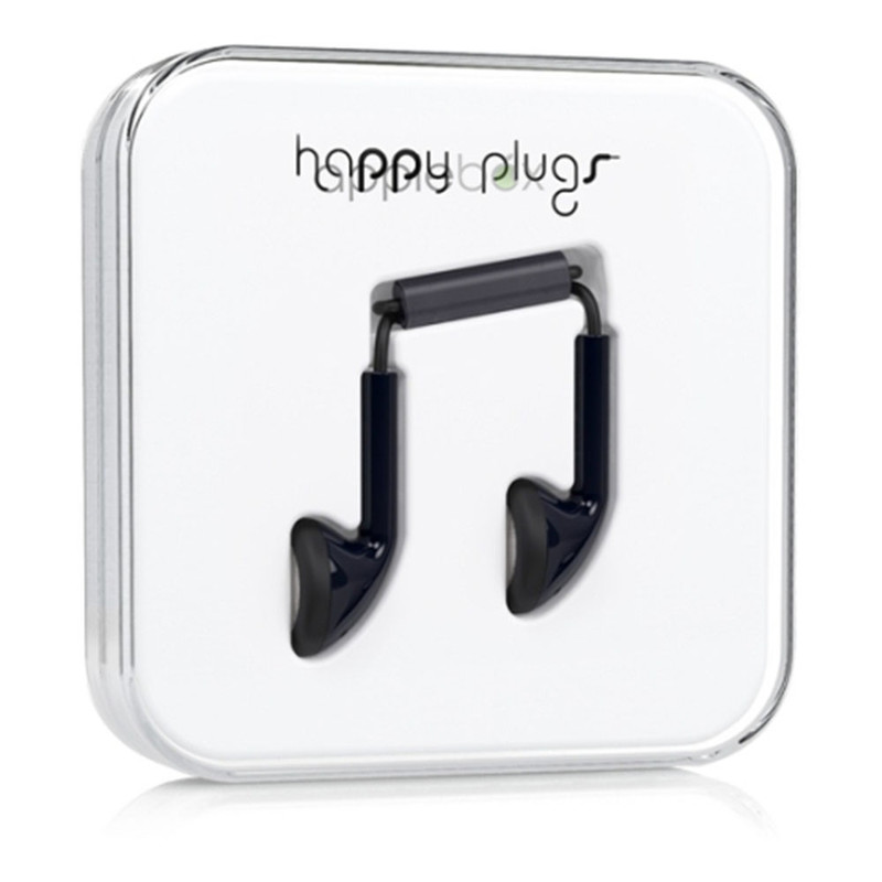 Наушники Happy Plugs Earbud чёрные