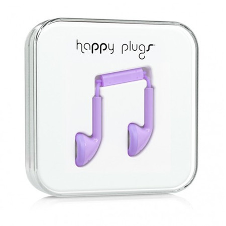 Наушники Happy Plugs Earbud лавандовые