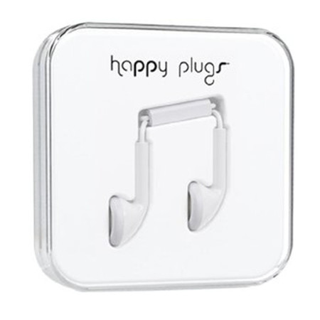 Наушники Happy Plugs Earbud белые
