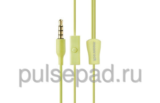 Гарнитура Moshi MoonRock Personal In-Ear Headphones для Universal зелёный