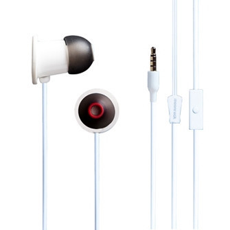 Гарнитура Moshi MoonRock Personal In-Ear Headphones для Universal белый