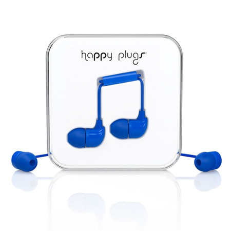 Наушники Happy Plugs In-Ear синие