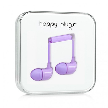 Наушники Happy Plugs In-Ear лавандовые