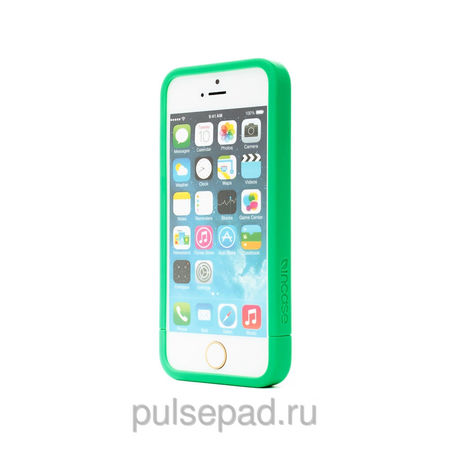 Чехол-накладка Incase Slider Case Soft Touch для Apple iPhone 5S/5 салатовый (CL69230)