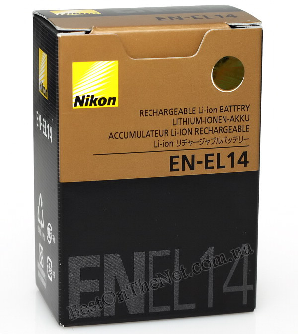 Аккумулятор Nikon EN-EL14 full decode